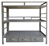 Triple Bunk Bed (with drawers)