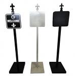 Ornamental Sign Post