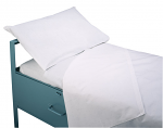 "Hospital Institutional - Wrinkle Resistant - No iron 20"" X 30"" T-180 Percale, 180 thread count  50% Polyester & 50% Cotton"