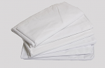 "Wrinkle Resistant, No iron, T-180 Percale 180 Thread Count, 50% Polyester & 50% Cotton  66"" X 115"""